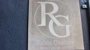 plaque Robin Gauthier